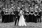 A Westchester Wedding In Black and White