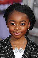 """HOLLYWOOD, LOS ANGELES, CA, USA - MARCH 11: Skai Jackson at the World Premiere Of Disney's """"Muppets Most Wanted"""" held at the El Capitan Theatre on March 11, 2014 in Hollywood, Los Angeles, California, United States. (Photo by Xavier Collin/Celebrity Monitor)"""