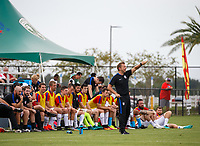 Lakewood Ranch, FL - Sunday July 23, 2017: USA coach during an international friendly match between the paralympic national teams of the United States (USA) and Canada (CAN) at Premier Sports Campus at Lakewood Ranch.