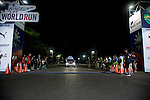 The catcher car leaves during the Wings for Life World Run on 08 May, 2016 in Yilan, Taiwan. Photo by Yo Young / Power Sport Images