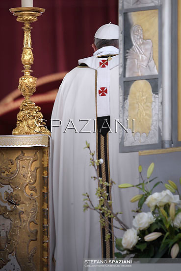 Pope Francis, Easter Mass in St. Peter's Square, at the Vatican,31 March 2013