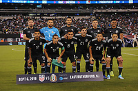 EAST RUTHERFORD, NJ - SEPTEMBER 7: Mexico National Team starting eleven during a game between Mexico and USMNT at MetLife Stadium on September 6, 2019 in East Rutherford, New Jersey.