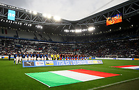 International friendly football match Italy vs The Netherlands, Allianz Stadium, Turin, Italy, June 4, 2018. <br /> Italy and The Netherlands teams line up prior to the start of the international friendly football match between at the Allianz Stadium in Turin on June 4, 2018.<br /> UPDATE IMAGES PRESS/Isabella Bonotto