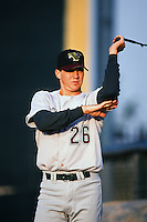 Barry Zito of the Visalia Oaks during a California League baseball game circa 1999. (Larry Goren/Four Seam Images)
