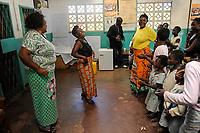 ZAMBIA, copperbelt, town Ndola, children desk a counselling centre for HIV orphans and HIV prevention by the catholic church / SAMBIA, Ndola im Copperbelt, township Nkwazig, katholische Kirche betreibt das children desk ein Counselling Center fuer Aids Waisen und -kranke