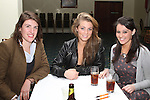 Emma Law, Heather Lynch and Ali McKeever at the quiz in aid of Niall Mellon Building Project in the Boyne Valley Hotel...(Photo credit should read Jenny Matthews www.newsfile.ie)....This Picture has been sent you under the condtions enclosed by:.Newsfile Ltd..The Studio,.Millmount Abbey,.Drogheda,.Co Meath..Ireland..Tel: +353(0)41-9871240.Fax: +353(0)41-9871260.GSM: +353(0)86-2500958.email: pictures@newsfile.ie.www.newsfile.ie.