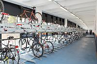 Nottingham Railway Station's new secure Cycle Hub