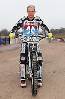 Eddie Kennett of Lakeside Hammers - Lakeside Hammers Speedway Press & Practice Day at Arena Essex Raceway - 20/03/15 - MANDATORY CREDIT: Gavin Ellis/TGSPHOTO - Self billing applies where appropriate - contact@tgsphoto.co.uk - NO UNPAID USE