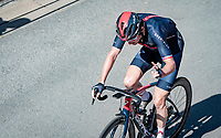 Geraint Thomas (GBR/INEOS Grenadiers) up the famous Côte de Saint-Roch during a 2nd passage through Houffalize<br /> <br /> 17th Benelux Tour 2021<br /> Stage 6 from Ottignies/Louvain-la-Neuve to Houffalize (BEL/208km)<br /> <br /> ©kramon