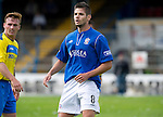 Cowdenbeath v St Johnstone....21.07.12  pre-season friendly.New Cowdenbeath signing Ruben Garcia Rey.Picture by Graeme Hart..Copyright Perthshire Picture Agency.Tel: 01738 623350  Mobile: 07990 594431