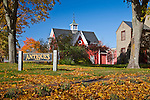 Autumn in Wiscasset, ME, USA