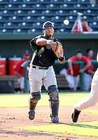 Henry Contreras / AZL Mariners playing against the AZL Angels at Tempe Diablo Stadium - 08/02/2008..Photo by:  Bill Mitchell/Four Seam Images