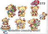 Interlitho-Theresa, VALENTINE, VALENTIN, paintings+++++,bears,KL4573,#v#, EVERYDAY ,sticker,stickers ,bear,bears