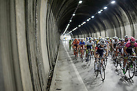 lot's of tunnels to pass through in the Giro<br /> <br /> 2015 Giro<br /> stage 5: La Spezia - Abetone (152km)