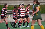 Counties Manukau v Mid Canterbury. 2021 National Women's Under-18 Hockey Tournament day three at National Hockey Stadium in Wellington, New Zealand on Tuesday, 13 July 2021. Photo: Dave Lintott / lintottphoto.co.nz https://bwmedia.photoshelter.com/gallery-collection/Under-18-Hockey-Nationals-2021/C0000T49v1kln8qk