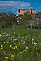 Europe/Europe/France/Midi-Pyrénées/46/Lot/Prudhomat: Château de Castelnau-Bretenoux