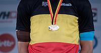 Oliver Naesen (BEL/AG2R-LaMondiale) wins the 2017 Belgian National Championship Road Race and thus is the new Belgian Champion<br /> <br /> 2017 National Championships Belgium - Elite Men - Road Race (NC)<br /> 1 Day Race: Antwerpen > Antwerpen (233km)