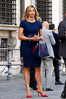 Silvia Salis during the visit of the Italian National team at Palazzo Chigi, where the athletes met the Italian Premier after winning the UEFA Euro 2020 cup.<br /> Rome (Italy), July 12th 2021<br /> Photo Samantha Zucchi Insidefoto