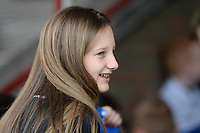 20180414 - AALTER , BELGIUM : Brugge's Tiany Van de Moortele pictured during the 21st matchday in the 2e Nationale Women's league , a womensoccer game between Club Brugge Dames and GFA Sinaai , in Aalter , saturday 15 th April 2018 . PHOTO SPORTPIX.BE   DAVID CATRY