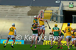 during the Joe McDonagh Cup Final match between Kerry and Antrim at Croke Park in Dublin.