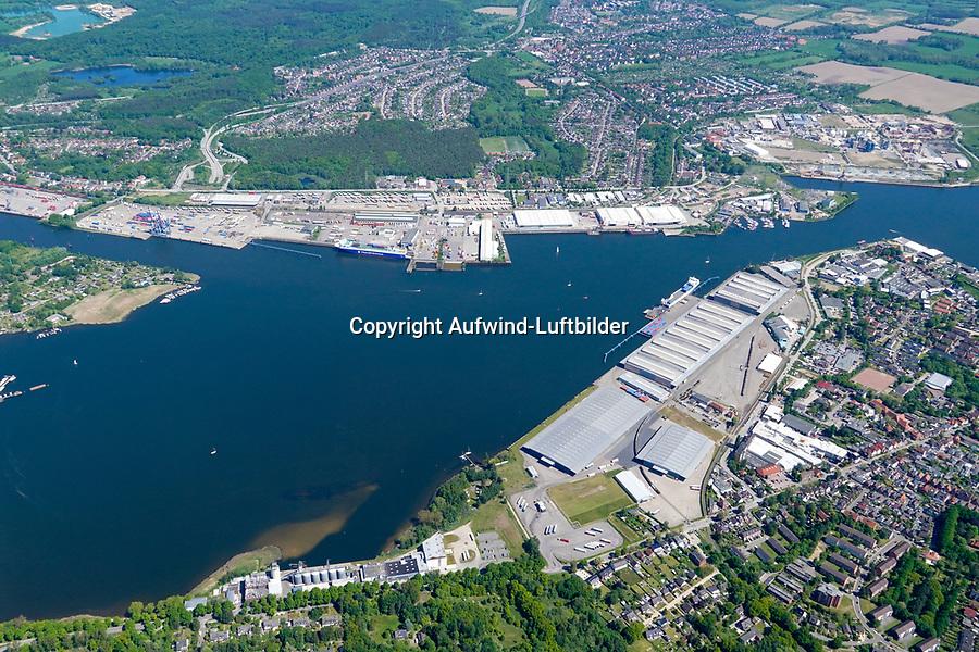 Hafen Lübeck Seelandkai und Schlutup