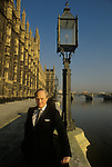 Winston Churchill MP,  at the House of Commons Westminster London 1986. 1980s UK