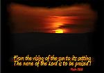 Inspirational image of three crosses at sunset in Tiberius, Israel
