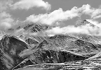 """""""Peaks of the Brooks Range"""" <br /> Alaska <br /> <br /> The Brooks Range lies above the Arctic Circle north of Fairbanks, Alaska. This photograph shows the magnificence of peaks in the Brooks Mountains."""