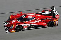 28-31 January, 2016, Daytona Beach, Florida USA<br /> 55, Mazda, P, Jonathan Bomarito, Tristan Nunez, Spencer Pigot<br /> ©2016, F. Peirce Williams