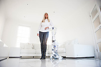 "COPY BY TOM BEDFORD<br /> Pictured: Claire hoovering the front room with a white Dyson vacuum cleaner<br /> Re: A home-loving mum is looking forward to a bright 2017 - everything she owns is white.  <br /> Claire Dix, 51, lives in white house where all the inside walls, floors and ceilings are white.<br /> Her furniture is white, her sheets and towels are white - even her Persian cat Mr Darcy is white.<br /> She drives a white Porsche sports car and the other family car is - you've guessed, it white.<br /> And to keep her home spotless she even has a white, limited-edition Dyson cleaner.<br /> Claire said: ""It's not an obsession, just a matter of style - I happen to like white."