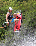 September 13, 2014:  Scenes from the WWA Wakeboard World Championships at Mills Pond Park in Fort Lauderdale, FL.  Men's  Professional Wakeboarder Noah Flegel USA. Liz Lamont/ESW/CSM