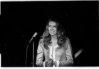 ARCHIVE - Radio Canada <br />  (date inconnue, entre 1967 et 1972)<br /> <br /> Photo : Agence Quebec Presse  - Alain Renaud