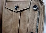 Leather Jacket, Banana Republic, Sutter Street, San Francisco, California