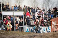 Marcel Meisen (DEU/Corendon–Circus)<br /> <br /> Elite Men's Race<br /> UCI cyclocross WorldCup - Koksijde (Belgium)<br /> <br /> ©kramon