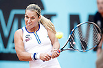 Dominika Cibulkova, Slovenia, during Madrid Open Tennis 2016 match.May, 4, 2016.(ALTERPHOTOS/Acero)