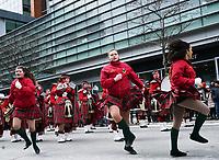 Defile Saint-Patrick 2019<br /> <br /> Photo: Agence Quebec Presse - Pierre Tran