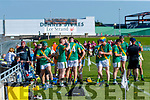 Water break during the Kerry County Senior Hurling Championship Final match between Kilmoyley and Causeway at Austin Stack Park in Tralee