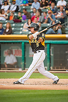 Alex Yarbrough (9) of the Salt Lake Bees at bat against the Oklahoma City Dodgers in Pacific Coast League action at Smith's Ballpark on May 27, 2015 in Salt Lake City, Utah.  (Stephen Smith/Four Seam Images)
