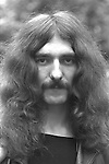 Black Sabbath 1970 Geezer Butler..© Chris Walter....