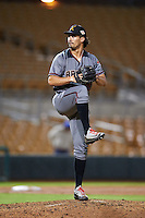 Salt River Rafters pitcher Jared Miller (98), of the Arizona Diamondbacks organization, during a game against the Glendale Desert Dogs on October 19, 2016 at Camelback Ranch in Glendale, Arizona.  Salt River defeated Glendale 4-2.  (Mike Janes/Four Seam Images)