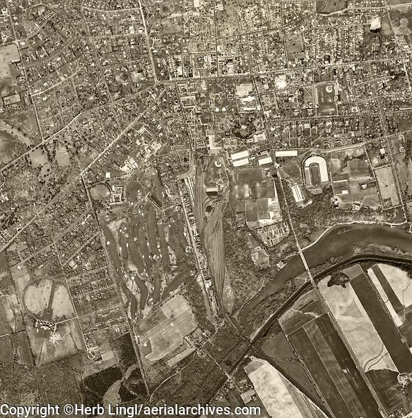 aerial photograph Princeton University, Princeton, Mercer County, New Jersey