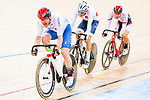 Simone Consonni of Italy competes in the Men's Omnium Finals during the 2017 UCI Track Cycling World Championships on 15 April 2017, in Hong Kong Velodrome, Hong Kong, China. Photo by Marcio Rodrigo Machado / Power Sport Images