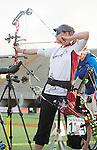 Karen Van Nest, Rio 2016 - Para Archery // Paratir à l'arc.<br /> Karen Van Nest competes in the Women's Individual Compound - Open // Karen Van Nest participe à l'épreuve individuelle - ouverte. 10/09/2016.