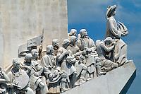 Portugal, Denkmal der Entdecker in Lissabon-Belem