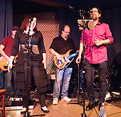 Les Samuelson and the Last Chance Band perform at the Main Street Restaurant.