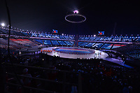 OLYMPIC GAMES: PYEONGCHANG: 09-02-2018, PyeongChang Olympic Stadium, Olympic Games, Opening Ceremony, Entrance the Netherlands, ©photo Martin de Jong