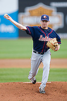 Starting pitcher Alex White #36 of the Kinston Indians in action against the Salem Red Sox at Lewis-Gale Field May 2, 2010, in Winston-Salem, North Carolina.  Photo by Brian Westerholt / Four Seam Images
