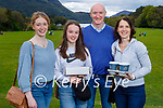 Niamh McAuliffe from Listowel who is celebrating her 19th birthday in Muckross Gardens on Sunday. L to r: Niamh, Aisling, Mark and Mags McAuliffe