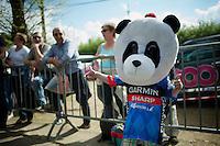 Garmin-Sharp panda at the ready! <br /> <br /> La Flèche Wallonne 2014