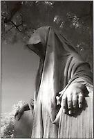 Graveyard statue<br />